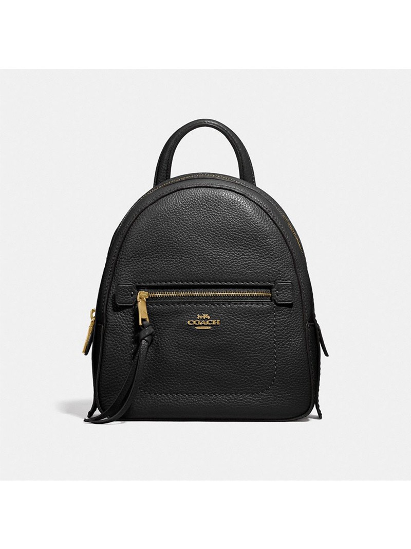 Coach Andi Backpack in Pebble Leather Black