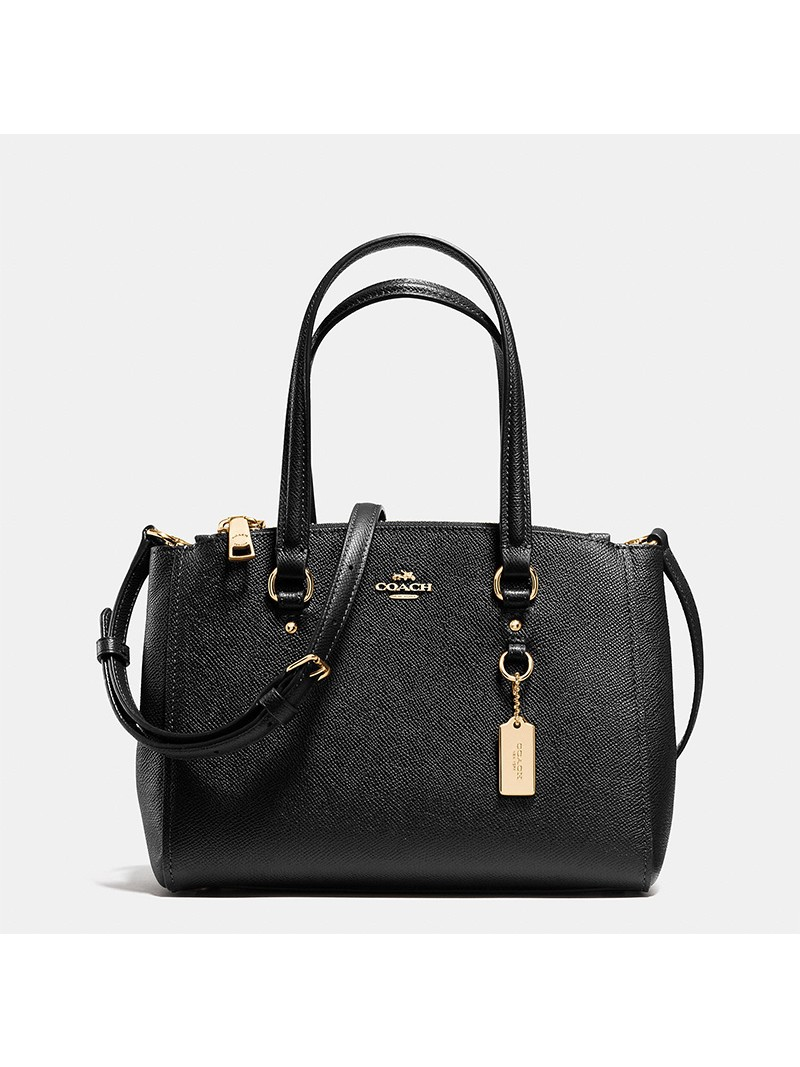 Coach Stanton Carryall 26 in Crossgrain Leather Black