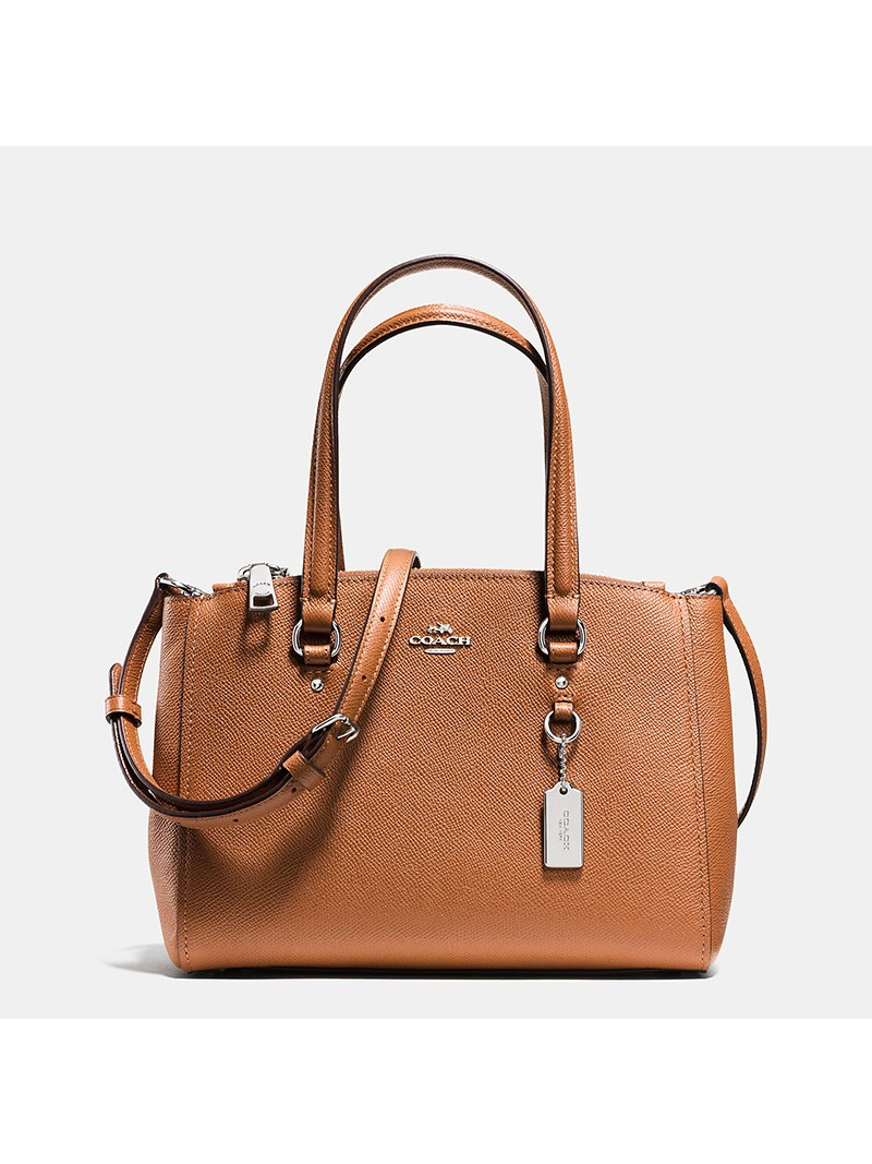 Coach Stanton Carryall 26 in Crossgrain Leather Brown