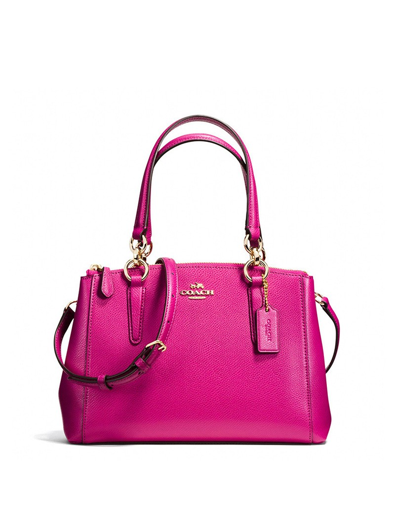 Coach Stanton Carryall 26 in Crossgrain Leather Rose