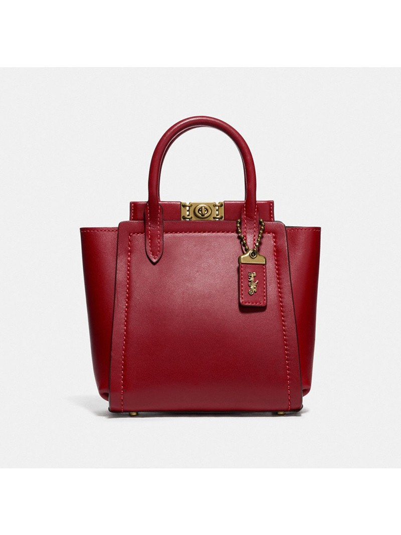 Coach Troupe Tote 16 Red